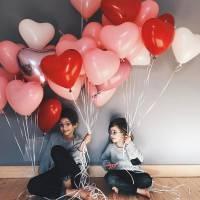 Воздушные шары сердца R773